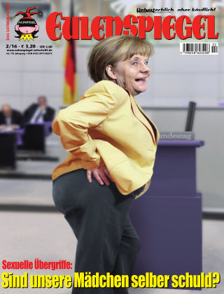 EULENSPIEGEL, das Satiremagazin 02/2016