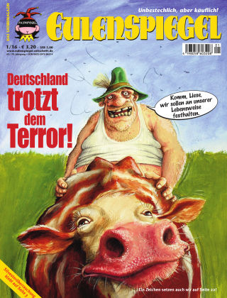 EULENSPIEGEL, das Satiremagazin 01/2016