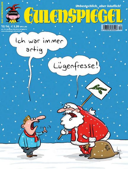 EULENSPIEGEL, das Satiremagazin November 24, 2016 00:00