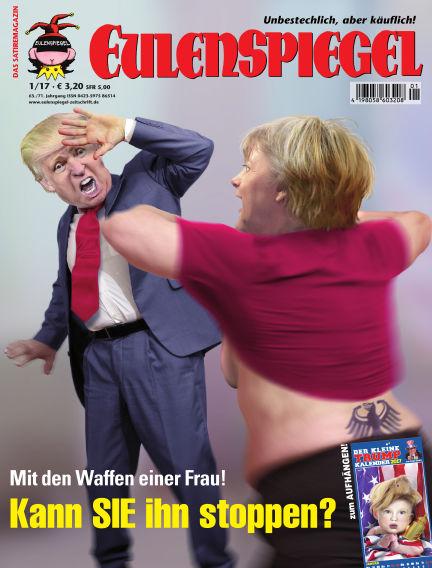 EULENSPIEGEL, das Satiremagazin December 22, 2016 00:00