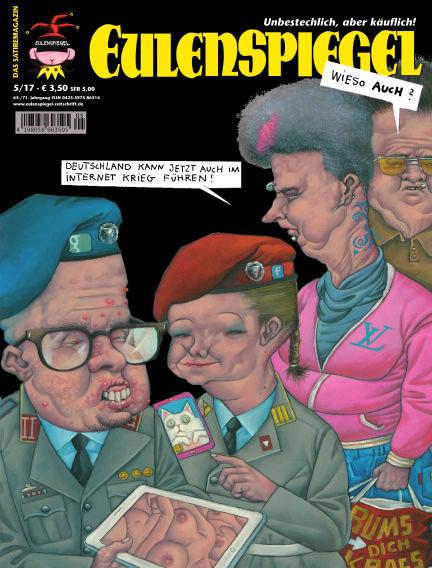 EULENSPIEGEL, das Satiremagazin April 27, 2017 00:00