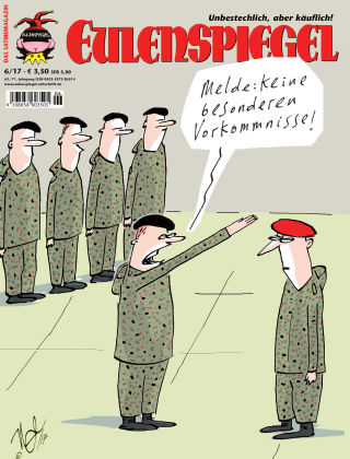 EULENSPIEGEL, das Satiremagazin 06/2017