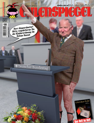 EULENSPIEGEL, das Satiremagazin 10/2017