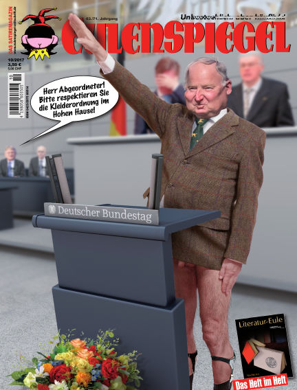 EULENSPIEGEL, das Satiremagazin September 21, 2017 00:00
