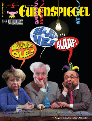 EULENSPIEGEL, das Satiremagazin 02/2018