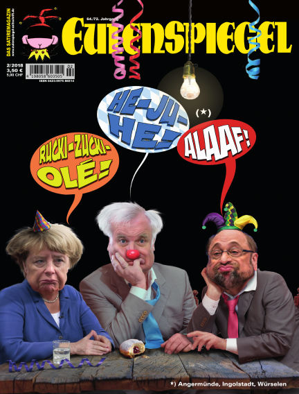 EULENSPIEGEL, das Satiremagazin January 25, 2018 00:00