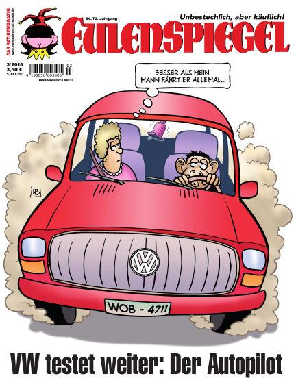 EULENSPIEGEL, das Satiremagazin February 22, 2018 00:00