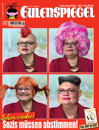 EULENSPIEGEL, das Satiremagazin 04/2018