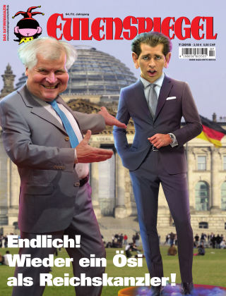 EULENSPIEGEL, das Satiremagazin 07/2018