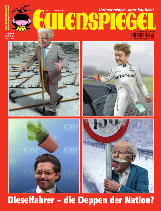 EULENSPIEGEL, das Satiremagazin 03/2019