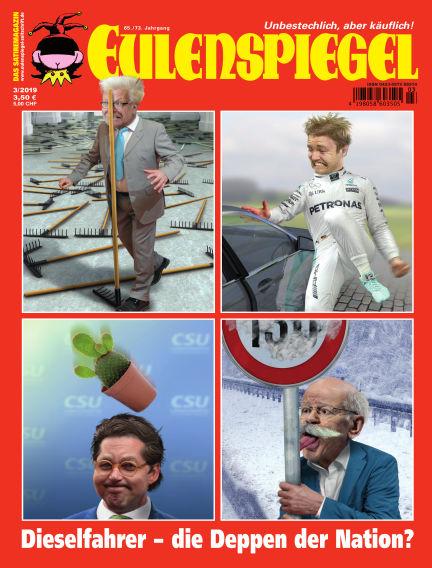 EULENSPIEGEL, das Satiremagazin February 21, 2019 00:00