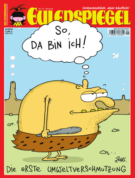 EULENSPIEGEL, das Satiremagazin August 29, 2019 00:00