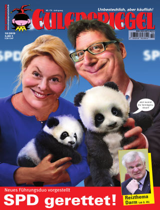 EULENSPIEGEL, das Satiremagazin 10/2019