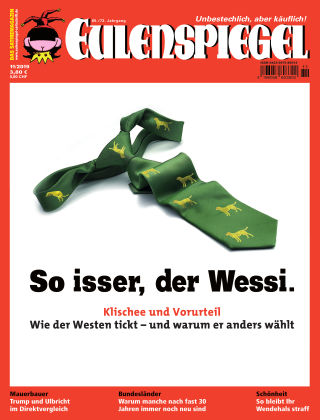 EULENSPIEGEL, das Satiremagazin 11/2019