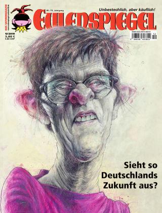 EULENSPIEGEL, das Satiremagazin 12/2019
