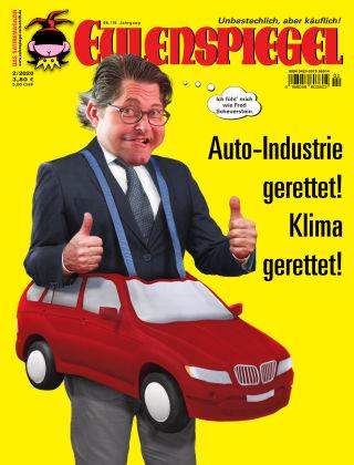 EULENSPIEGEL, das Satiremagazin 02/2020