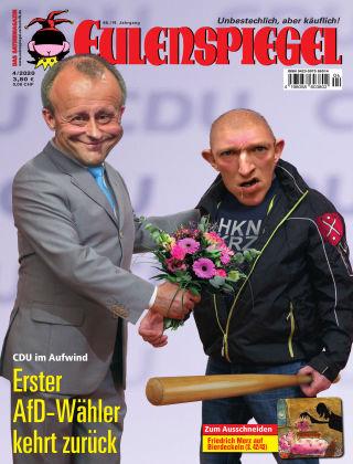 EULENSPIEGEL, das Satiremagazin 04/2020