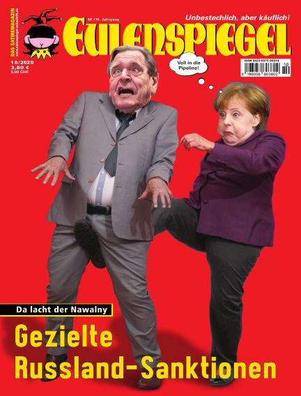 EULENSPIEGEL, das Satiremagazin September 24, 2020 00:00