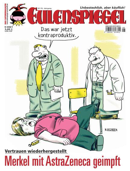 EULENSPIEGEL, das Satiremagazin April 22, 2021 00:00
