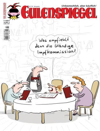 EULENSPIEGEL, das Satiremagazin 07/2021