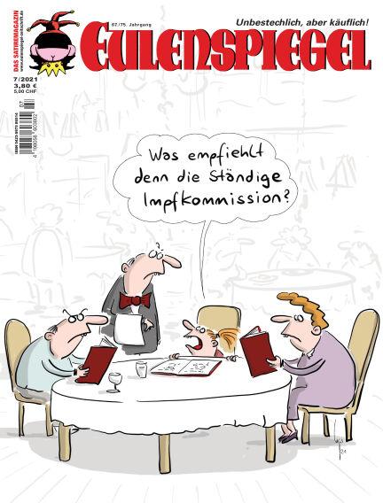 EULENSPIEGEL, das Satiremagazin June 24, 2021 00:00