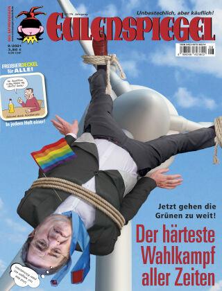 EULENSPIEGEL, das Satiremagazin 08/2021