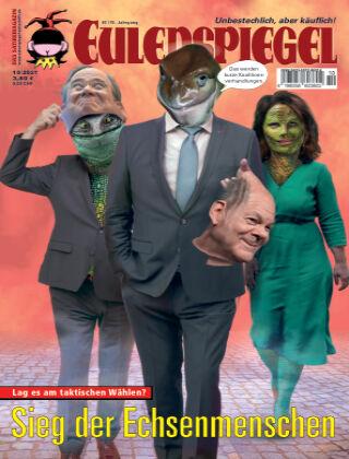 EULENSPIEGEL, das Satiremagazin 10/2021