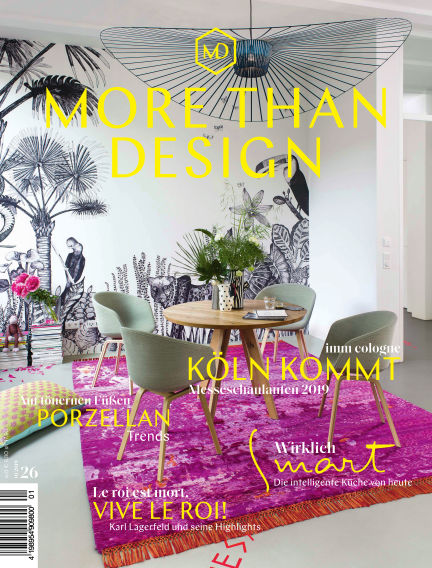 MORE THAN DESIGN  March 29, 2019 00:00