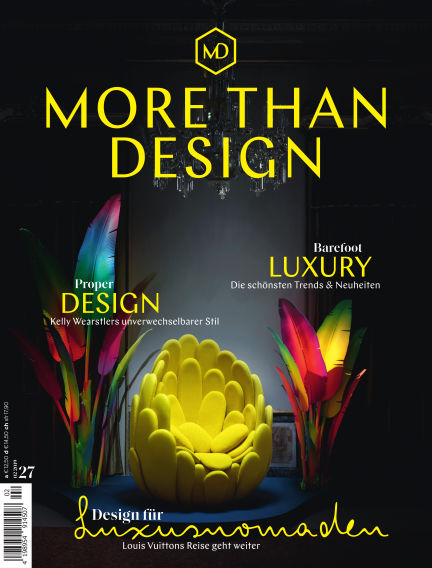 MORE THAN DESIGN May 24, 2019 00:00