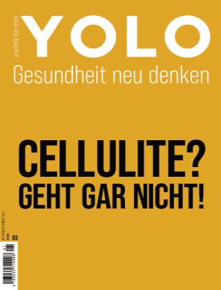 YOLO – You only live once 01/21