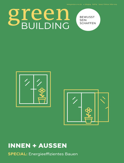 greenBUILDING (eingestellt) March 14, 2019 00:00