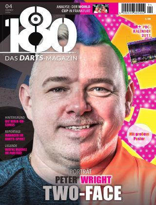 180 - Das DARTS-Magazin 04 – Herbst 2016