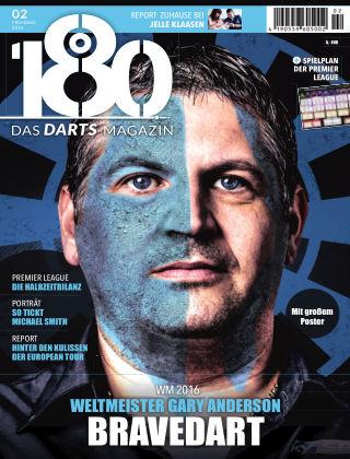 180 - Das DARTS-Magazin 02 – Frühling 2016