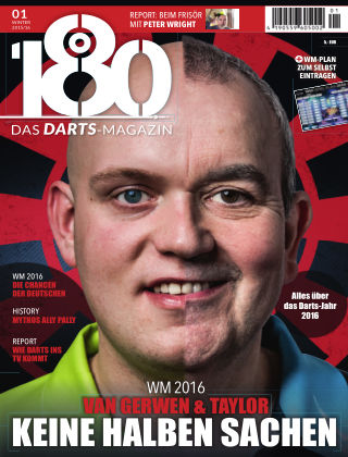 180 - Das DARTS-Magazin 01 – Winter 2015/16