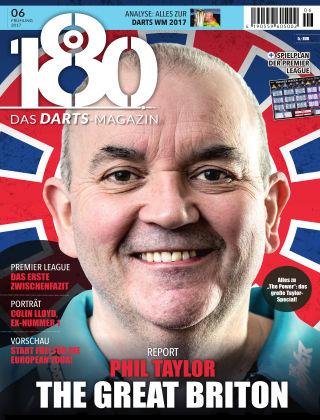 180 - Das DARTS-Magazin 06 – Frühling 2017