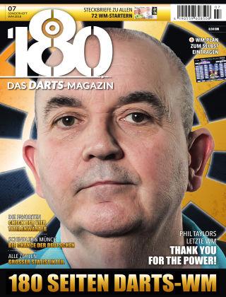 180 - Das DARTS-Magazin Sonderheft WM 2018