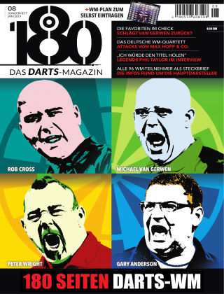 180 - Das DARTS-Magazin Sonderheft WM 2019