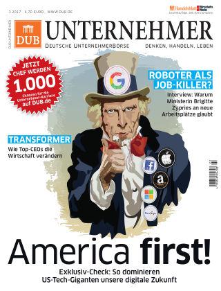 DUB UNTERNEHMER-Magazin  3.2017