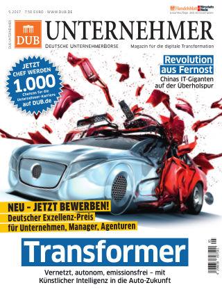 DUB UNTERNEHMER-Magazin  5.2017