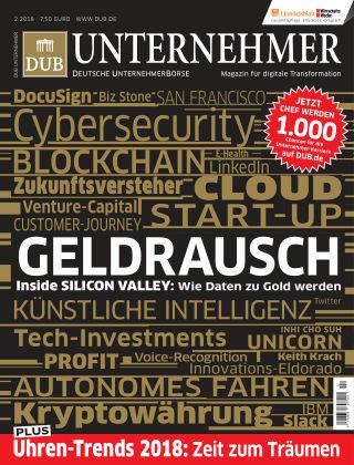 DUB UNTERNEHMER-Magazin  2.2018