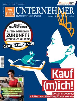 DUB UNTERNEHMER-Magazin  5.2018