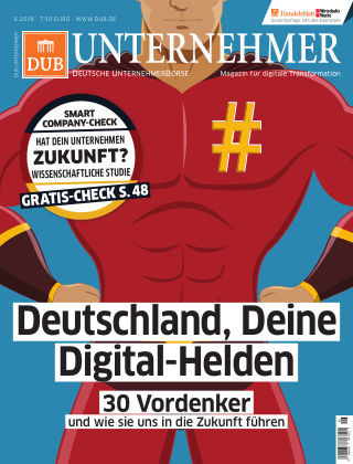 DUB UNTERNEHMER-Magazin  6.2018