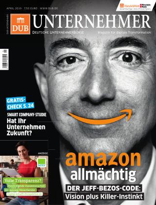 DUB UNTERNEHMER-Magazin  1.2019