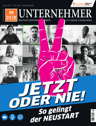 DUB UNTERNEHMER-Magazin  02.2020