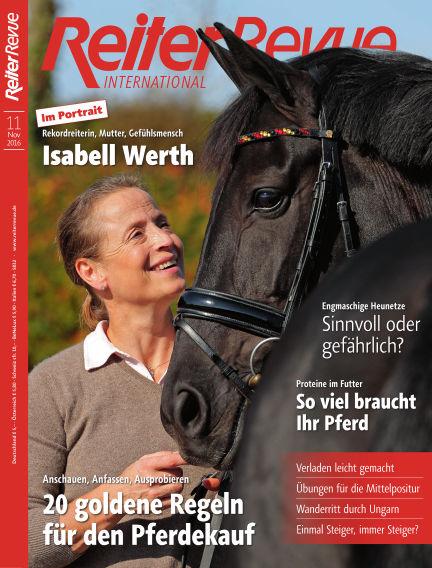 Reiter Revue International October 20, 2016 00:00