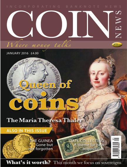 Coin News December 23, 2015 00:00