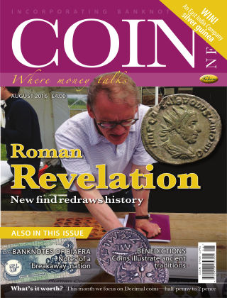 Coin News August 2016