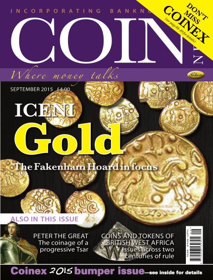 Coin News September 01, 2015 00:00
