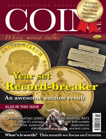 Coin News November 01, 2015 00:00