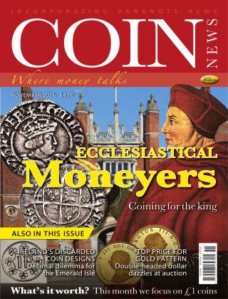 Coin News November 2016